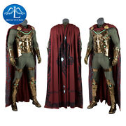 Spiderman Mysterio Far From Home Cosplay Costume Superhero Halloween Menand039s Suit