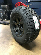 17x9 Fuel Beast D564 Wheels Rims 33 Gripper At Tires Package Chevy Gmc 6x5.5