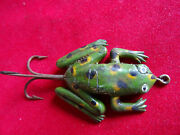 An Early Vintage Rubber/gutta Percha Frog Fishing Lure