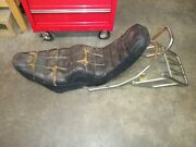 Xs850 King/queen Chopper Style Seat, Sissy Bar, And Rear Rack