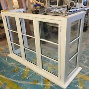 Solid Timber Wooden Square Bay Window Made To Measure Bespoke