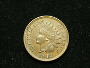 Must Go Sale Au 1903 Indian Head Cent Penny W/ Full Liberty And Diamonds 186v