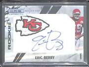 2010 Panini Rookie And Stars Longevity Rookie Autograph 272 Eric Berry 9 Of 10
