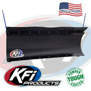 Kfi 60 Poly Plow Complete Kit W/ Mad Dog 3500 For 2016-2021 Yamaha Grizzly 700