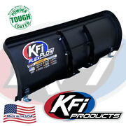 Kfi 50 Flex Blade Complete Plow Kit W/ Mad Dog 2500 And03902-08 Yamaha Grizzly 660