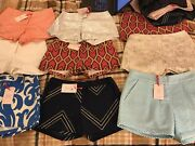 50 Fifty Shorts Brand New With Tags Julie Brown Wholesale Lot Several Sizes