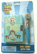Toy Story 4 Spoon Diary + Lock And Key + Pen - 4 Piece Set - New