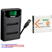 Kastar Battery Lcd Dual Charger For Sony Np-bn1 Bc-csn And Sony Cyber-shot Dsc-wx9