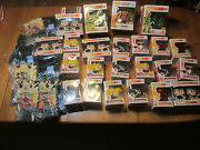 Funko Pop Dragon Ball Z Super And Naruto Shippuden Chase Complete Your Collection