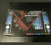 Led Dancing Water Music Fountain Light Speakers For Pc Laptop Iphone Ipad4 Ipod