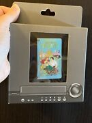 Ariel- The Little Mermaid Vhs Tape Le 1500- Movie Disney Pin Hinged -see Pics