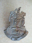1981 Melbourne Pageant Car Badge For Ford Chev Austin Morris Mg Rover Vw Mini