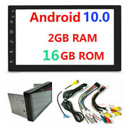Android 10.0 Double 2din 7inch Indash Car No Dvd Radio Stereo Wifi Gps 2+16gb