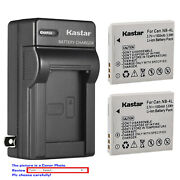 Kastar Battery Wall Charger For Canon Nb-4l Nb-4lh And Digital Ixus 110 Is Camera