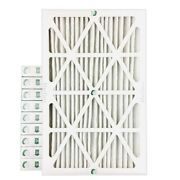 10x20x2 Merv 13 Pleated Ac Furnace Air Filters.  Case Of 12.