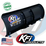 Kfi 50 Flex Blade Complete Plow Kit W/ Mad Dog 3500 And03907-13 Honda Rancher 420