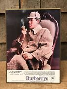 Rare Vintage Clothing Store Counter Top Display Sherlock Holmes Wow