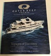 Outer Reef Yachts Voyages Of Discovery Nautical Decor Coffee Table Book Boating