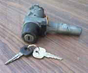 Mercedes Benz 280-e W123 Ignition System With Two Keys