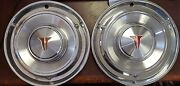 1961 Oldsmobile F-85 13 Wheel Covers Hubcaps Nos - Set Of 2