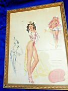 Earl Macpherson Artist King Of Pinupsrare Collection