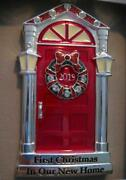 2019 1stfirst Christmas In Our New Home Red Door Ornamenteuropean Crystalsnib