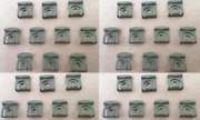 34 Vintage Nos Rear Window Molding Clips 1965-1970 Ford/mercury Mustang Cougar
