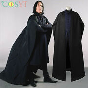 Severus Snape Professor Outfits Harry James Potter Cosplay Props Costume