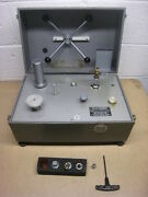 Used Pressurements Type M1900/3 2-4000 Psi Range Dead Weight Tester Free Ship