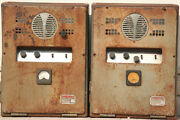 Power Amplifier Tube Vintage Stereo Integrated Used Amp 6l6g El34 Gz34 Pair 50's