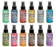 Tim Holtz Distress Oxides Spray - 2 Fl Oz Bottle - Fun Way To Create Background