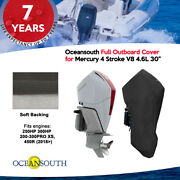 Oceansouth Outboard Storage Full Cover For Mercury V8 4.6l 200hp - 450hp 30