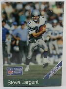 Steve Largent 150 Piece Puzzle Still Factory Sealed Very Rare
