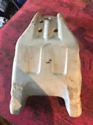 2007 Honda Foreman 500 Eps 4wd Front Bumper Lower Skid Plate Guard Plastic Used