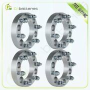 4pcs 1.25 Thick 6x5.5 12x1.5 Wheel Spacers For 1999-2006 Toyota Tundra 2000