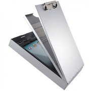 Saunders Recycled Aluminum Storage Clipboard Dual Tray Storage