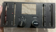 1977 Bmw E21 320i Oem Ac Heater Climate Control Dash Panel Fan Switch Lighter