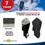 Oceansouth Outboard Storage Full Cover For Mariner V8 4.6l 200hp - 450hp 20