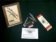 Camillus 64 Spiral Punch Knife Premium Stockman Usa Made W/packaging,papers Rare