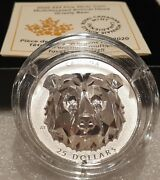 2020 Grizzly Bear Multifaceted Animal Highrelief Head 25 1oz Silver Coin Canada