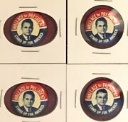 1 Dixiecrat George Wallace For President 1968 Stand Up For America Button 1972