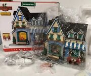 New Rare Lemax Christmas Village Coffee Cottage Tea House Shop Coventry Cove
