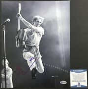 Pinball Wizard Pete Townshend Signed Classic The Who 11x14 3 Beckett Bas