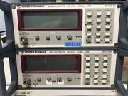 Rohde And Schwarz Ure2 Rms Voltmeter Dc - 25mhz