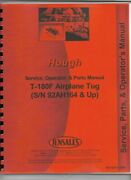Hough T-180f Paymover Service Operators Manual Parts Catalog Airplane Tug