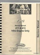 Ford Vsg-411 Vsg-413 Engine Service Repair Manual