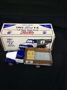 First Gear 1951 Ford F-6 Full Rack Stake Truck Pepsi-cola 134 19-1091 Nos