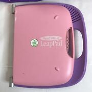 Leap Pad Learning System With Carry Case And 6 Books And 6 Cartridges