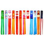 Trademark Innovations Seasonal Theme Windsocks 60 In Blows In The Wind Set Of 12