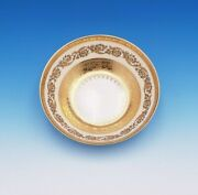 Exquisite French Raynaud Ceralene Imperial China Small Bowl Acid Gold